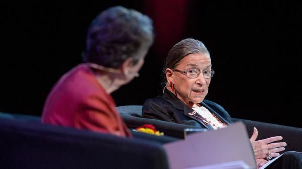 RBG at the John P. Frank Memorial Lecture Series